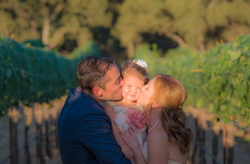 Parents and Their Child at Rancho Roble