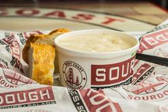 West Coast Sourdough Freeport Blvd Sacramento CA  Hot Cream of Potato Soup