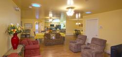 Chateau Senior Living Auburn CA Almond Gardens Comfortable Eating Area