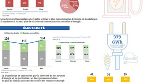 Energy report 2021 in Guadeloupe