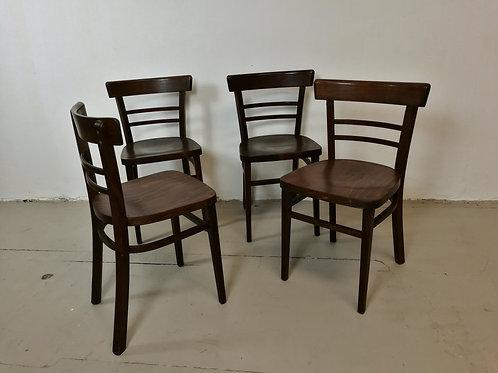 set de 4 chaises bistro