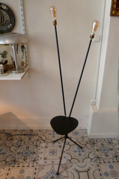 lampadaire 2 bras vintage