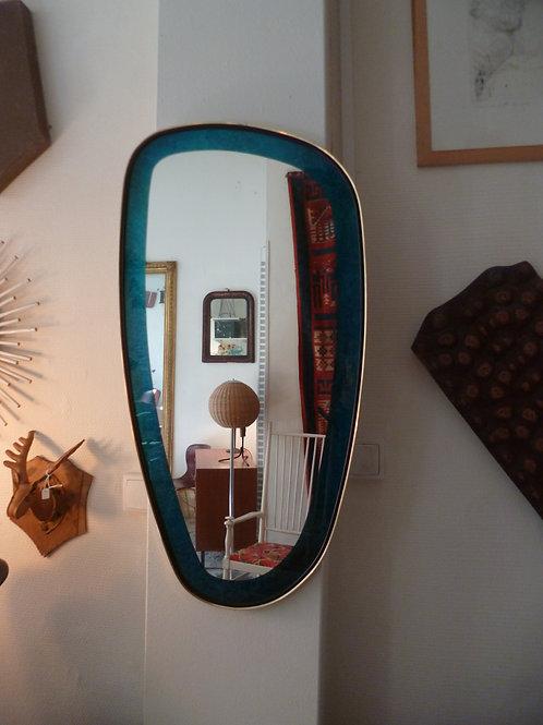 """Miroir """"rétroviseur"""" des années 60 vintage"""