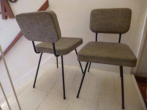 Paire de chaises Airborne d'andré Simard 1950
