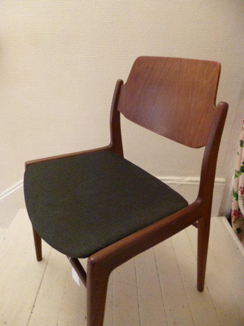 Chaise en teck Lomeyer