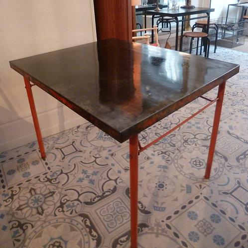 table métal pliante de brasserie