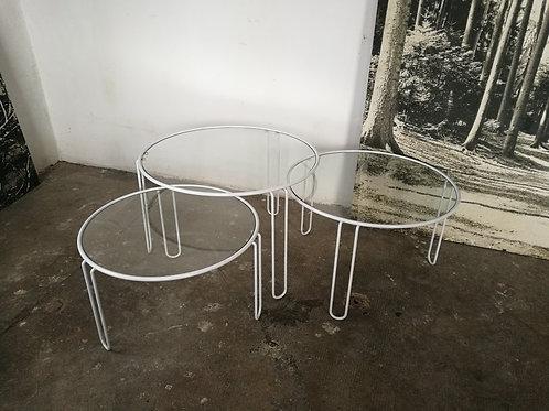 Série de 3 tables basses