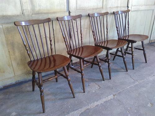 Série de 4 chaises Baumann
