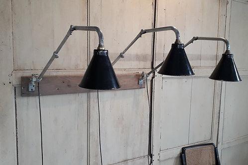 Trio de lampes d'atelier KI E KLAIR