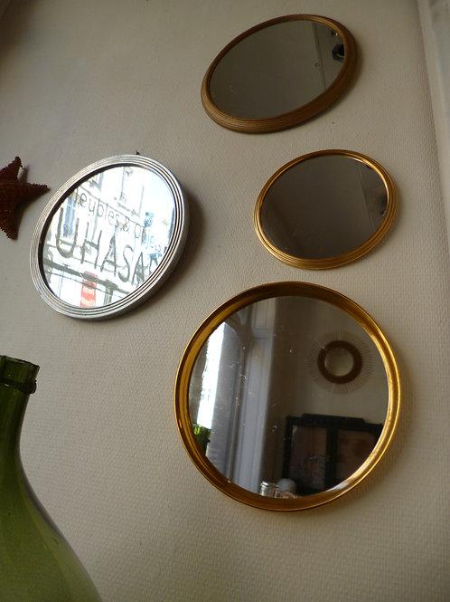 Série de miroirs ronds
