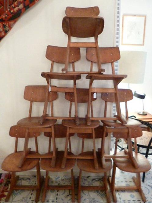 Série de 10 chaises Casala