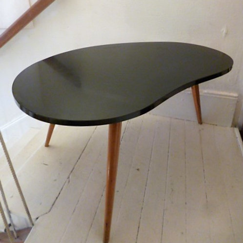 Table basse formica forme Haricot
