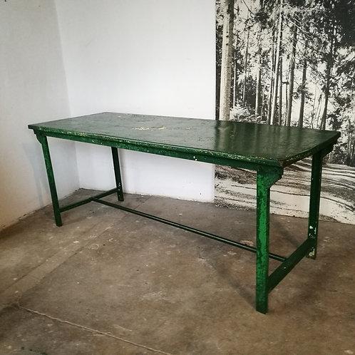 Table militaire en métal