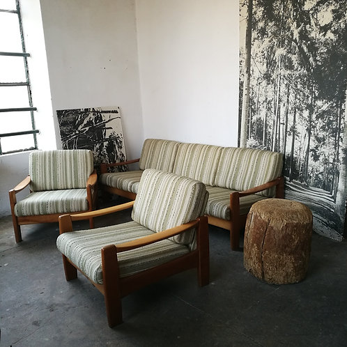 Ensemble fauteuils et canapé scandinaves