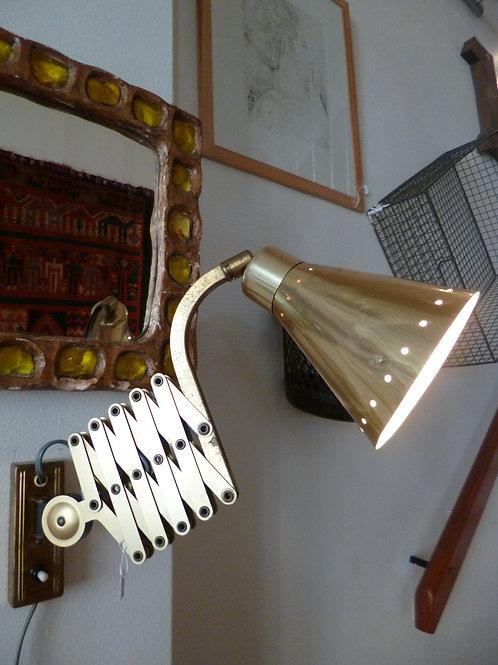 Lampe laiton 1950