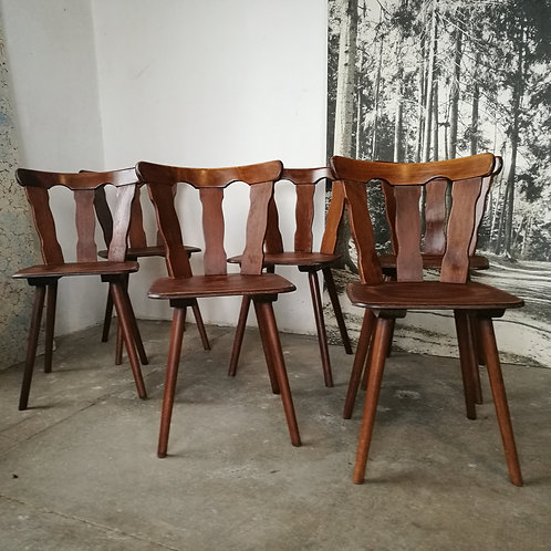 chaises bistrot vintages