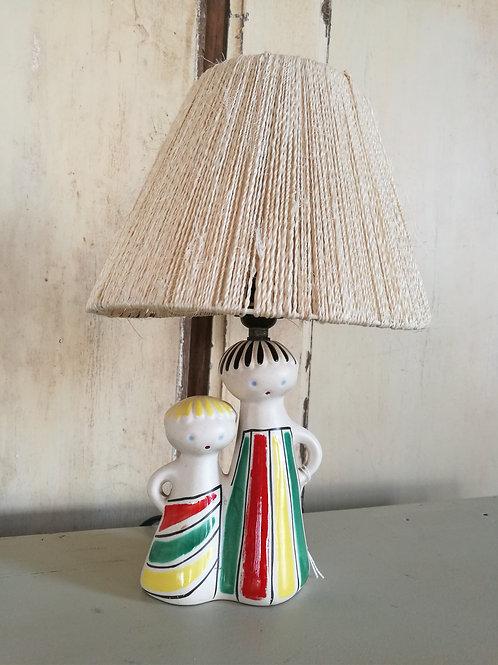 Lampe céramique des années 50