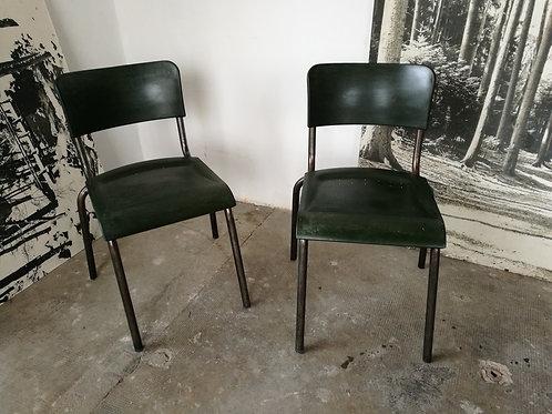 Paire de chaise de R Herbst