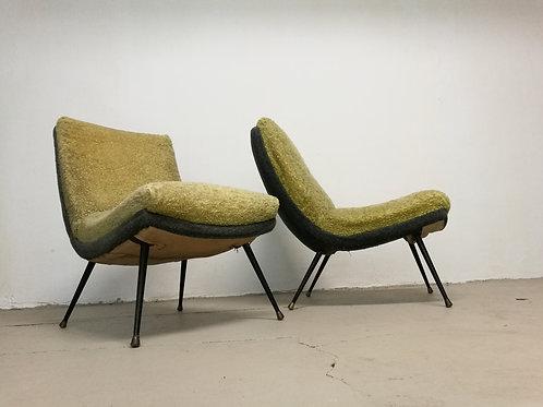 paire de fauteuils Erton