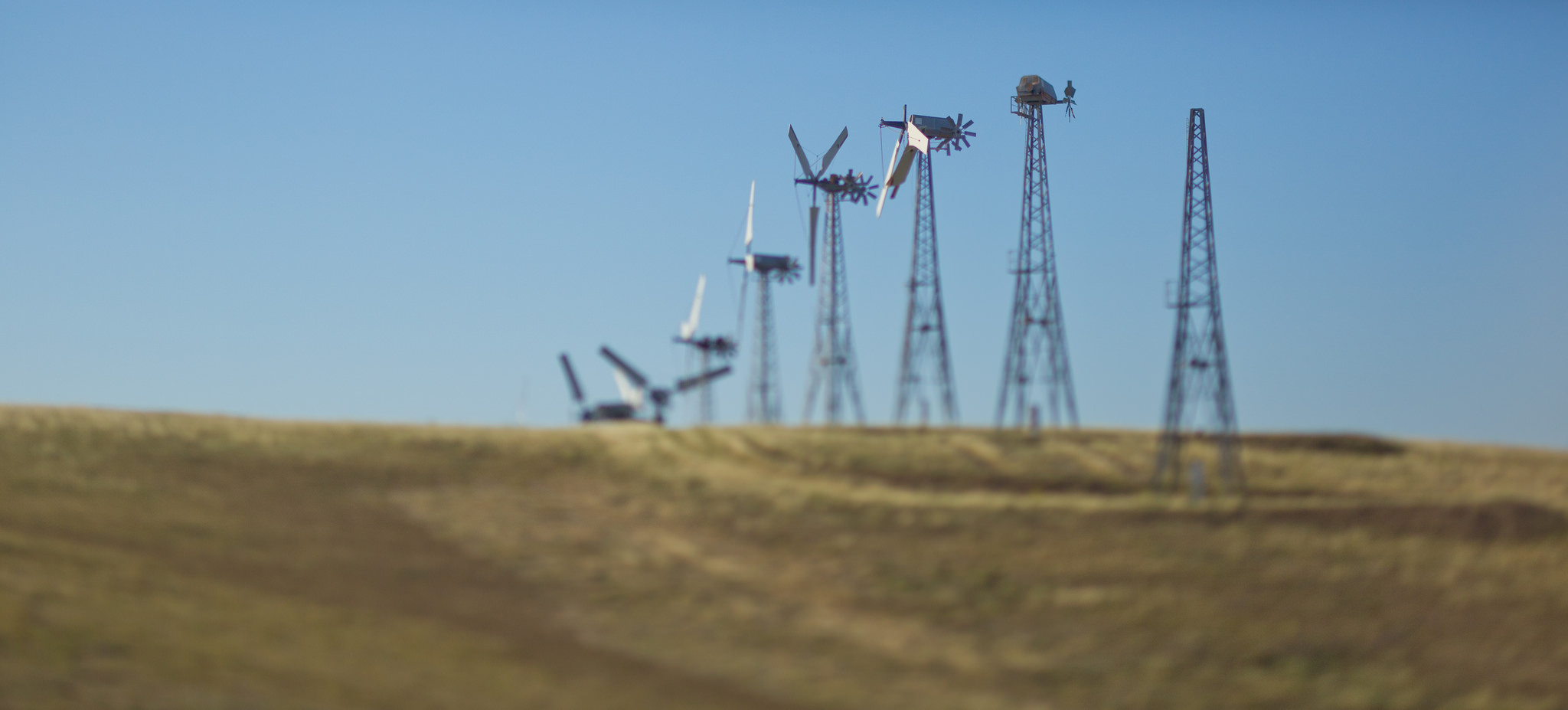 Windmills at Altamont Pass