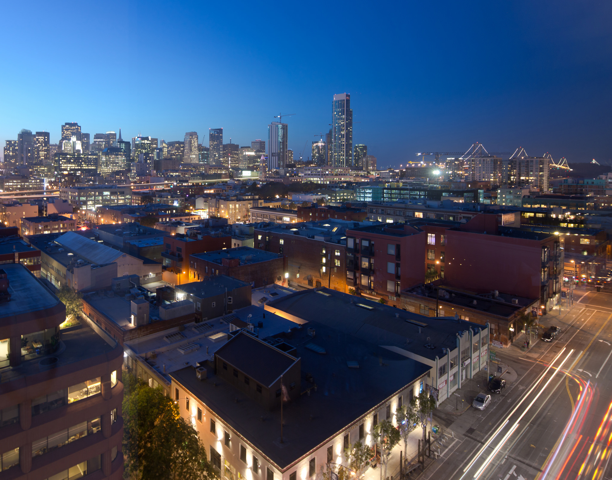 SoMa to Downtown SF