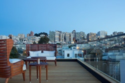 Cow Hollow roof deck