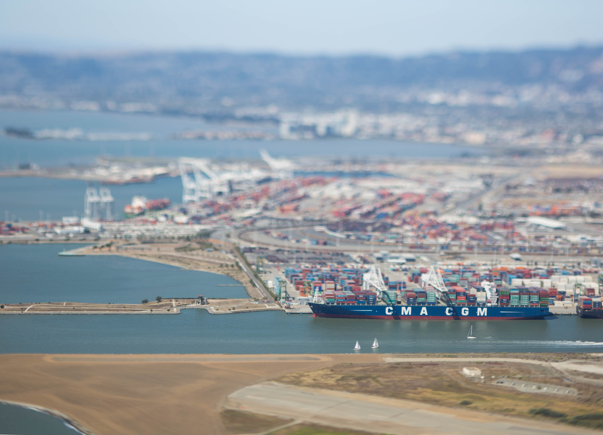 CMA CGM Logistics, Port of Oakland