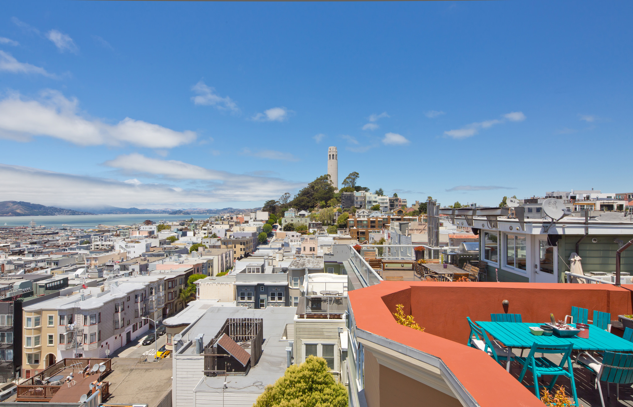 Coit Tower view, SF