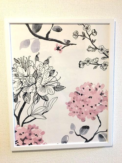 アートパネル 花 Ⅳ