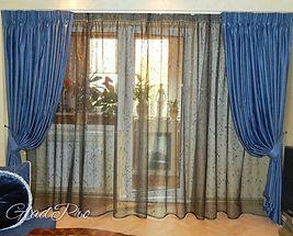 Классические шторы в зал
