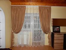Портьерные шторы для спальни