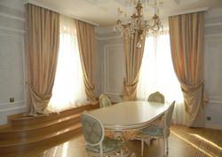 шторы для гостиной в стиле Классицизм.