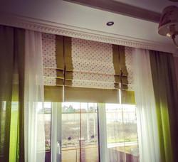 римские шторы в детской на заказ