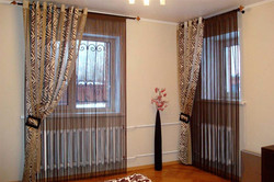 Нити - верёвочные шторы для спальни.