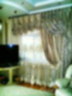 Элитные шторы для гостиной.