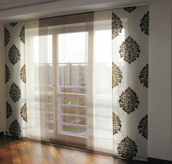 Японские шторы панели для спальни.