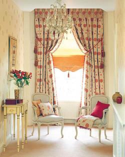Итальянские шторы для гостиной.