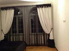 Декоративные шторы для спальни