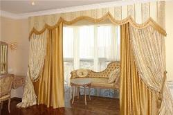 Элитные шторы спальни на заказ.