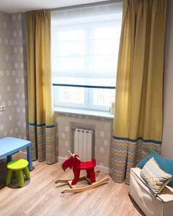 заказать римские шторы для детской