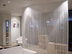 Нити- верёвочные шторы