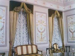Французские шторы для кабинета.