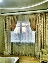 Декоративные шторы для гостиной