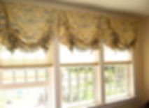 Английская штора в гостиную