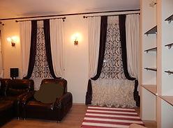 Портьерные шторы для гостиной