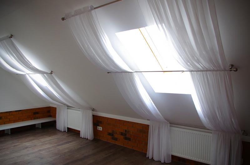 мансардные шторы
