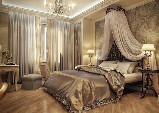 Ар-деко для спальни.
