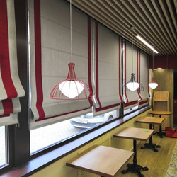 шторы в ресторан
