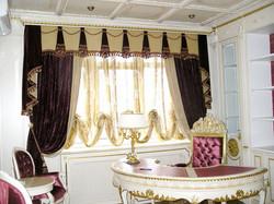 Элитные шторы для кабинета.