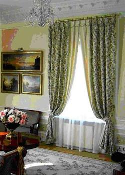 Портьерные шторы в зал.